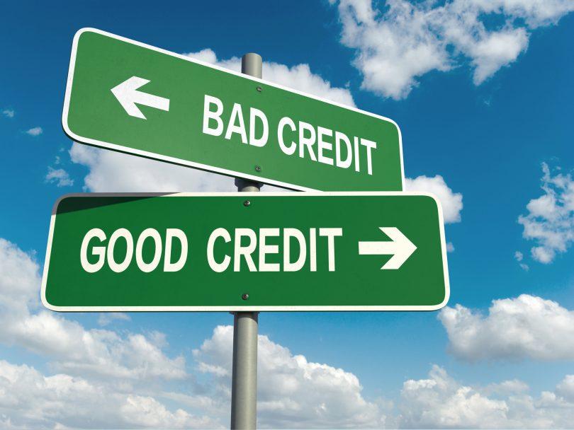 credit score dropped