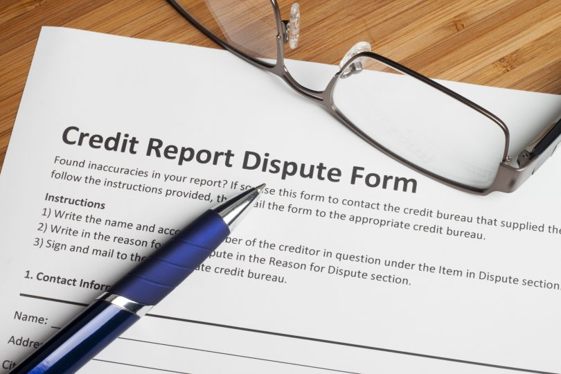 dispute credit report